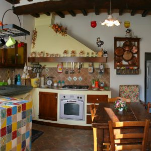 Cucina casa padronale Colle del sole agriturismo