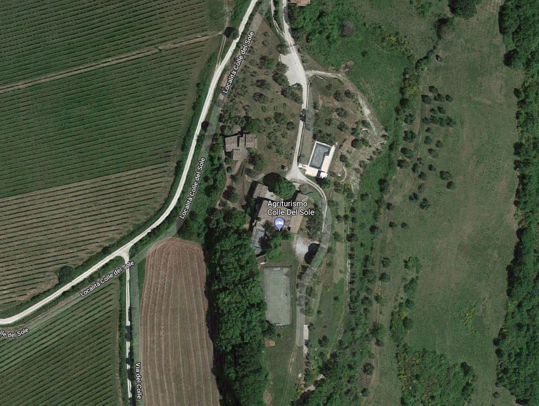 Agriturismo Colle del Sole Vista Satellite