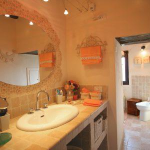 Bagno casa padronale Colle del sole agriturismo
